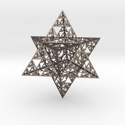 Download free 3D printer model Sierpinski Merkaba, iagoroddop