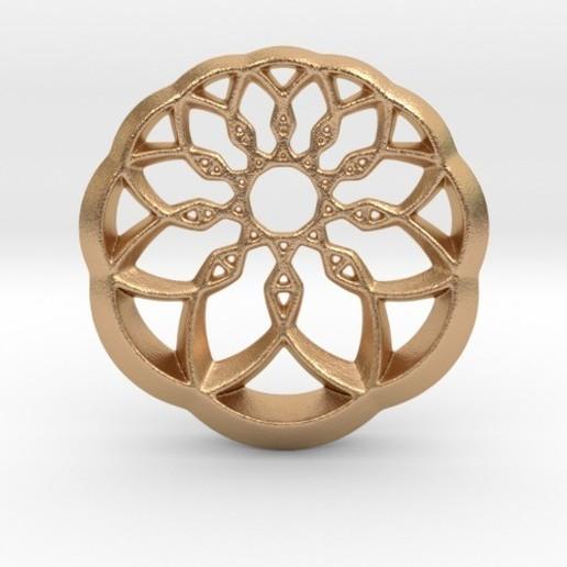Télécharger objet 3D Pendentif Roue de Culture, iagoroddop