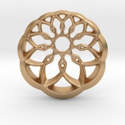 Imprimir en 3D Growing Wheel Pendant, iagoroddop