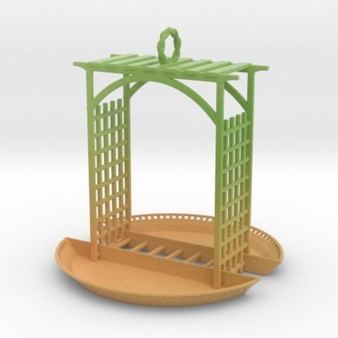 Télécharger modèle 3D Mangeoire pour oiseaux, iagoroddop