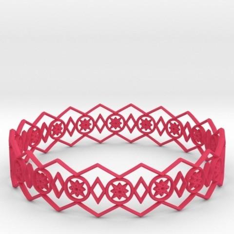 Descargar archivo 3D Bracelet Stars, iagoroddop
