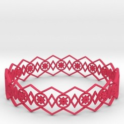 Download STL Bracelet Stars, iagoroddop