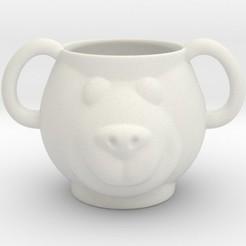 Impresiones 3D Bear Mug, iagoroddop