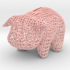 3D printing model Wire Piggy Bank, iagoroddop