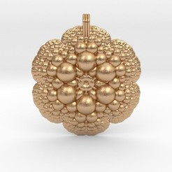 Download STL file Fractal Pendant, iagoroddop