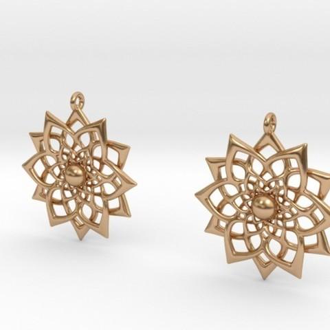 Impresiones 3D Earrings, iagoroddop