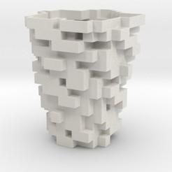 Impresiones 3D Blocks Vase, iagoroddop