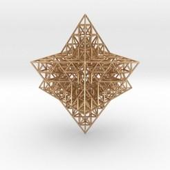 Descargar STL Sierpinski Merkaba Prism, iagoroddop