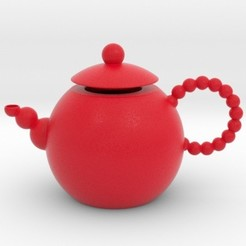 spheresteapot.jpg Download STL file Spheres Teapot • 3D printable model, iagoroddop