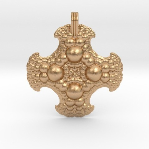 Download 3D printing files Fractal Pendant Order 3, iagoroddop