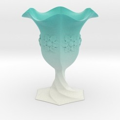 Impresiones 3D Cup Vase, iagoroddop
