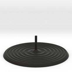 spirals.jpg Download STL file Two Spirals Incense Burner • 3D print object, iagoroddop