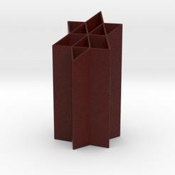 6ps pen.jpg Download STL file 6PS Penholder • 3D printable object, iagoroddop