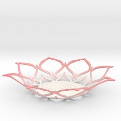 lotustlight.jpg Download STL file Lotus Tealight Holder • 3D printable model, iagoroddop