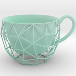 blucup.jpg Download STL file Wired Cup • 3D print object, iagoroddop