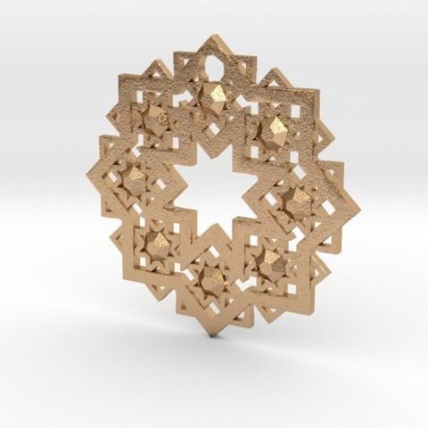 3D printing model Arabesque Pendant, iagoroddop