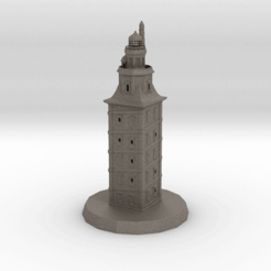Descargar archivo 3D Torre de Hércules, iagoroddop
