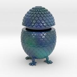 Download 3D printer designs Dragon Egg Box, iagoroddop