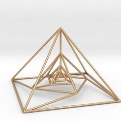 Impresiones 3D Nested Pyramids Rotated, iagoroddop