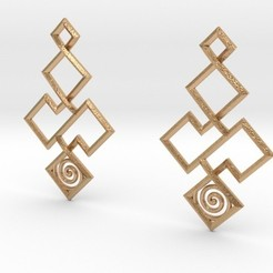 Archivos 3D Earrings, iagoroddop