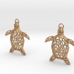 Archivos 3D Turtle Earrings, iagoroddop