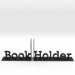 Download 3D printer templates Book Holder, iagoroddop