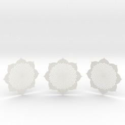 3fibocoasters.jpg Download STL file 3 Fibocoasters • 3D print object, iagoroddop