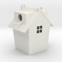 birdhouse.jpg Download STL file Birdhouse • 3D printable template, iagoroddop