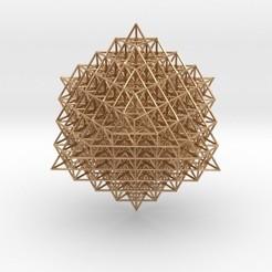 Modelos 3D para imprimir 512 Tetrahedron Grid, iagoroddop