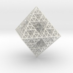 Download 3D printer templates Wire Sierpinski Octahedron, iagoroddop