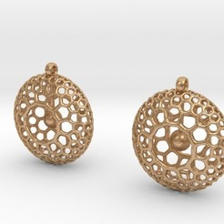 Imprimir en 3D Rad Earrings, iagoroddop