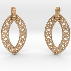 Impresiones 3D Earrings, iagoroddop