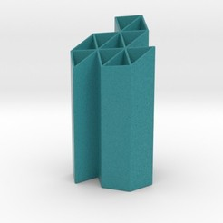 triskelion penholder.jpg Télécharger fichier STL Porte-plume Triskelion • Objet imprimable en 3D, iagoroddop