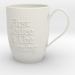 Download 3D printer model A Mug, iagoroddop