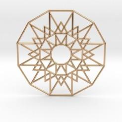 Download 3D printing designs Sun Medallion, iagoroddop
