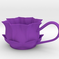 Download 3D printer templates Flower Tealight Holder, iagoroddop