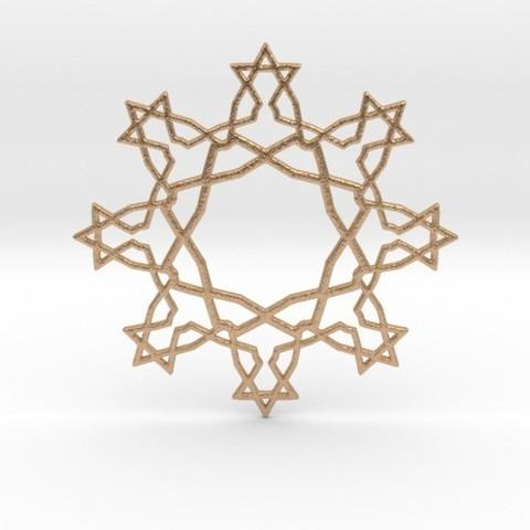 Descargar archivo 3D Estrellas Pendant, iagoroddop