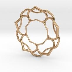 5petals.jpg Download STL file 5 Petals Pendant • 3D printable design, iagoroddop