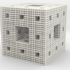 Download STL files Wire Menger Sponge, iagoroddop