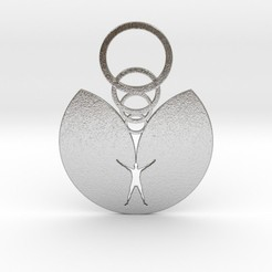 Download free STL file Hunter's Moon Pendant • 3D printer template, iagoroddop
