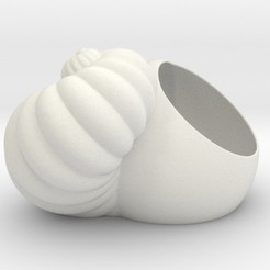 3D print files Shell Planter, iagoroddop