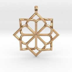 Download 3D printing models 8P Star Pendant, iagoroddop