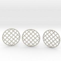 Imprimir en 3D 3 Braided Coasters, iagoroddop