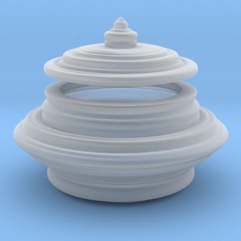 Diseños 3D Round Box, iagoroddop