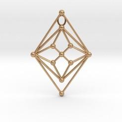 Download 3D printer templates Math Graph GH Pendant, iagoroddop