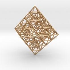 Descargar archivo 3D Sierpinski Octahedral Prism, iagoroddop