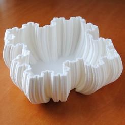 fractal bowl.jpg Télécharger fichier STL Bol fractal • Plan imprimable en 3D, iagoroddop