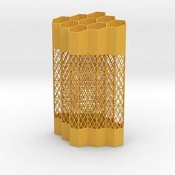 Diseños 3D Beehive Penholder, iagoroddop