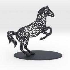 Descargar archivo STL Voronoi Rearing Horse • Diseño para la impresora 3D, iagoroddop