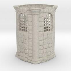 Modelos 3D Medieval Penholder, iagoroddop